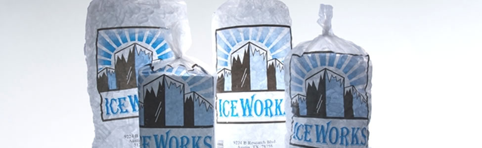 Ice Works products and ice services in Austin Texas!